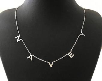 Choker Necklace - Personalized Choker Necklace - Custom Name Choker -Name choker - Gold Name Necklace - Name Choker - Gothic Choker