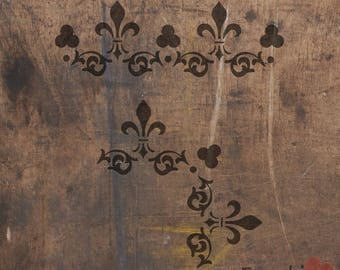 Stencil, Painting Stencils - Border chalk paint stencils, Frenchic, Shabby Chic, Painted furniture.