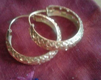 Creole gold plated