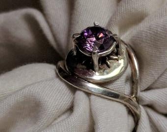 Amethyst Eye Ring