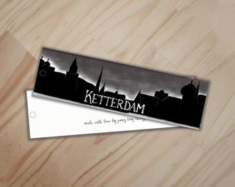 Ketterdam Bookmark - Six of Crows and Crooked Kingdom Bookmark