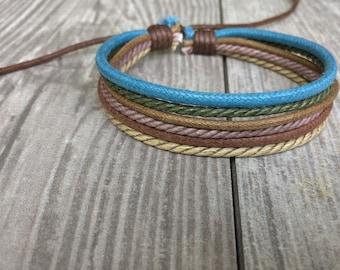 Hemp Bracelet, Vegan Jewellery, Hemp Cord Bracelet, Vegan Bracelet, Hemp Jewelry, Gifts Under 10 Made Well, Priced Right HB-31
