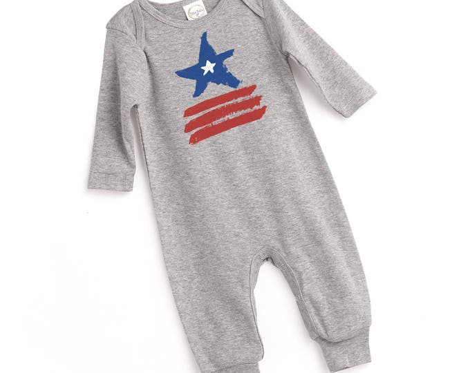 Newborn July 4th Baby Outfit, 4th of July Baby Onesie, Newborn Boy Outfit July 4, New Baby 4th Outfit, Infant 4th July Onesie TesaBabe