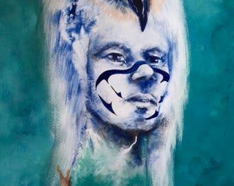 Eagle clan shaman
