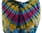 Tie Dye shoulder bag Boho bag   Messenger Hippie  Gypsy Sling Hippy  Hobo Boho sling bag