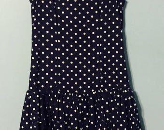 Two-Piece 80s Polka Dot Dress!