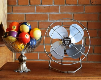 Vintage Torcan Desk Fan - Industrial Fan - Office Decor - Working Vintage Fan - Mid Century Fans