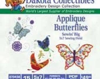 Dakota Collectible Machine Embroidery Designs CD - 15 to 20 Designs Per CD  Over 30 Different CDs Available