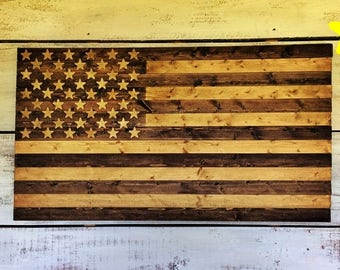 Wooden American Flag Wall Art american flag wood american flag wood flag american flag