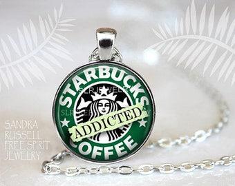 Coffee Humor Earrings, Photo image jewelry, coffee earrings, Starbucks Addition, Coffee Drinkers Gift, Gift for coffee lovers,