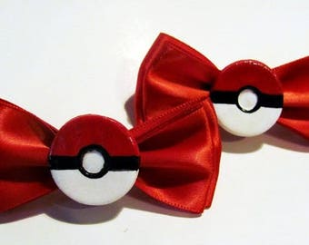 Pokeball red bows