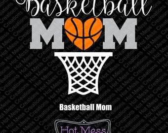 basketball mom svg etsy