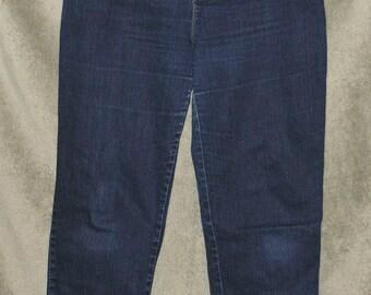 Vintage Gloria Vanderbilt Jeans Women's Size 16 Long (36x33) Mom Jeans High Waist  Stretch Tapered Leg Good Condition