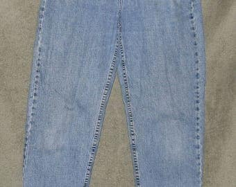 Tommy Hilfiger, Vintage Jeans, Regular Fit, Tapered Leg, Womens Size 10, Classic Waist, Mom Jeans, 1990's, Good Used Conditon