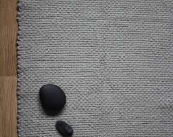 Linen Bath Mat, linen Spa rug, Linen Bath rug, Door mat, small rug, organic bath mat, linen shower rug, rustic bed rug, raw linen, sauna mat