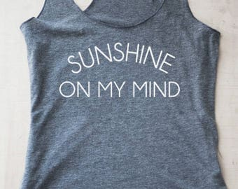 Sunshine on my mind Tank