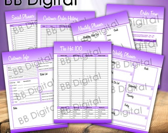 The Bulk Younique Presenters Pack ~ Digital Download ~ Volume .1.    Marketing    Younique    Order Form    Direct Sales    Planners   