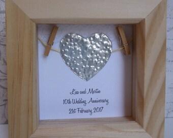 10th Wedding Anniversary Gift Tin Present11th Present