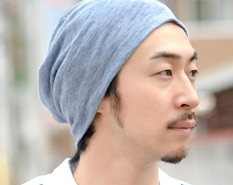 MADE in JAPAN 100% LINEN Beanie Hat Summer Designer Men Women Ventilating be-win