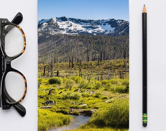 Journal | Tahoe: South Tahoe 2281. Notebooks, Sketch Notebook, Journal, Writer's Notebook.