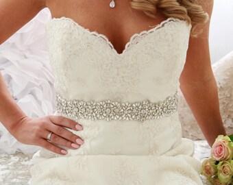SOFIA Bridal Sash New 2017 Vintage Fairytale Belt Wedding Dress