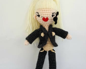 Crochet The 90's - Madonna Blonde Ambition Amigurumi by the Gay Hooker