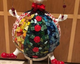 Mosaic Clown Bowling Ball