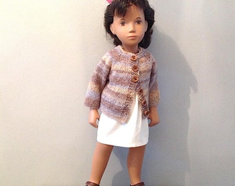 Sasha Doll Cardigan - Hippie Collection - Caramel Topping