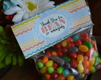 Thank You for BEAN so Amazing Gift Tags