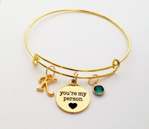 you re my person bracelet you re my person