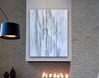 Abstract Painting Large Wall Art Original Acrylic Painting Canvas Art Contemporary Art Decor Textured Painting by Sonja Alfreider