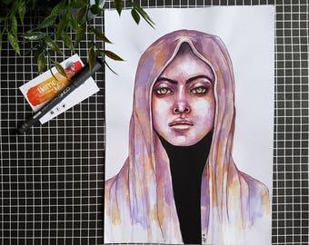 SALE / Hazel / ORIGINAL Artwork