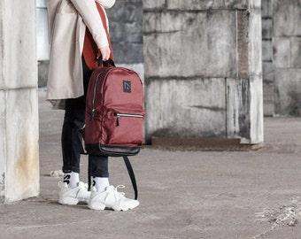 Cute Backpack, Womens Backpack, Red Backpack, Canvas Backpack, Zipper Backpack, Leather Backpack, Girls Backpacks, Travel Backpack, Backpack
