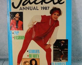 Vintage Jackie Teen Annual 1987 Nostalgic 40th birthday present