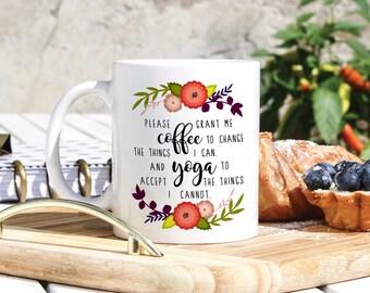 Yogi Coffee Mug - Yoga Lover Gift - Funny Yoga Mug - Buddha Mug - Gift For Yoga Instructor - Yoga Teacher Gift - Yoga Guru Mug - Yoga Master