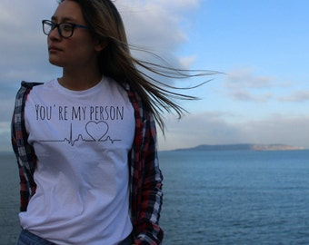 Greys Anatomy t-shirt | Unofficial Merch |You're my person| Valentines Gift