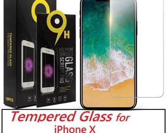 iPhone X Tempered Glass Screen Proctector iPhone 7 Screen Protector iPhone 7 Plus  iPhone 8 iPhone 8 Plus +