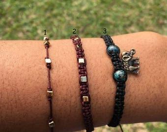macrame Bohemian  bracelet