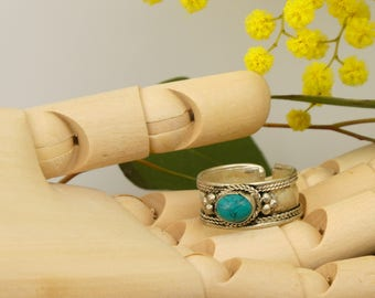 Reconstituted stone - Nepalese ring ring