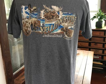 Yellowstone National Park Recycled Short Sleeve T Shirt