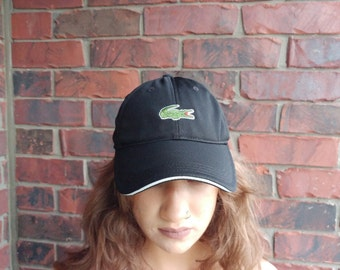 Lacoste Sport Hat Strapback Lacoste Athletic Cap Lacoste Sport Embroidered Hat