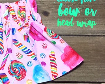 Candy Skirt- Ruffle Skirt; Baby Skirt; High Waist Skirt; Toddler Skirt; Baby Ruffle Skirt; High Waisted Toddler Skirt; Girls Skirt