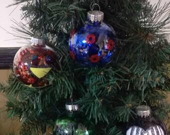 Set of 4 phish band set Christmas ornaments new handmade handpainted