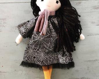 Spiderweb Homemade Doll