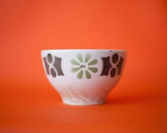 Ceramic bowl SACAVÉM - SACAVÉM ceramics - geometric Bowl - home decor - porcelain Sacavém - Made in Portugal - bowl - 70's