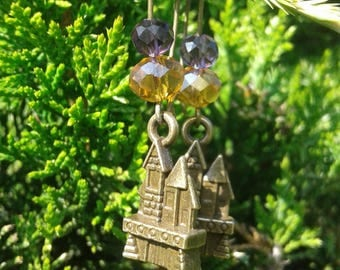 Hogwarts Castle Earrings