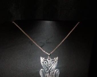 Primordial Silver Pendant   - Viking -