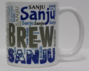 Name and Word Art Mug