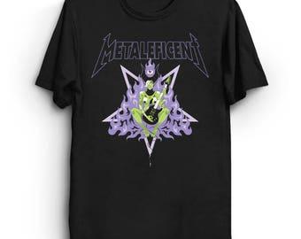 Metaleficent - Thrash T-Shirt | Heavy Metal Shirt | Goth T-Shirt