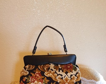 Vintage Carpet Handbag